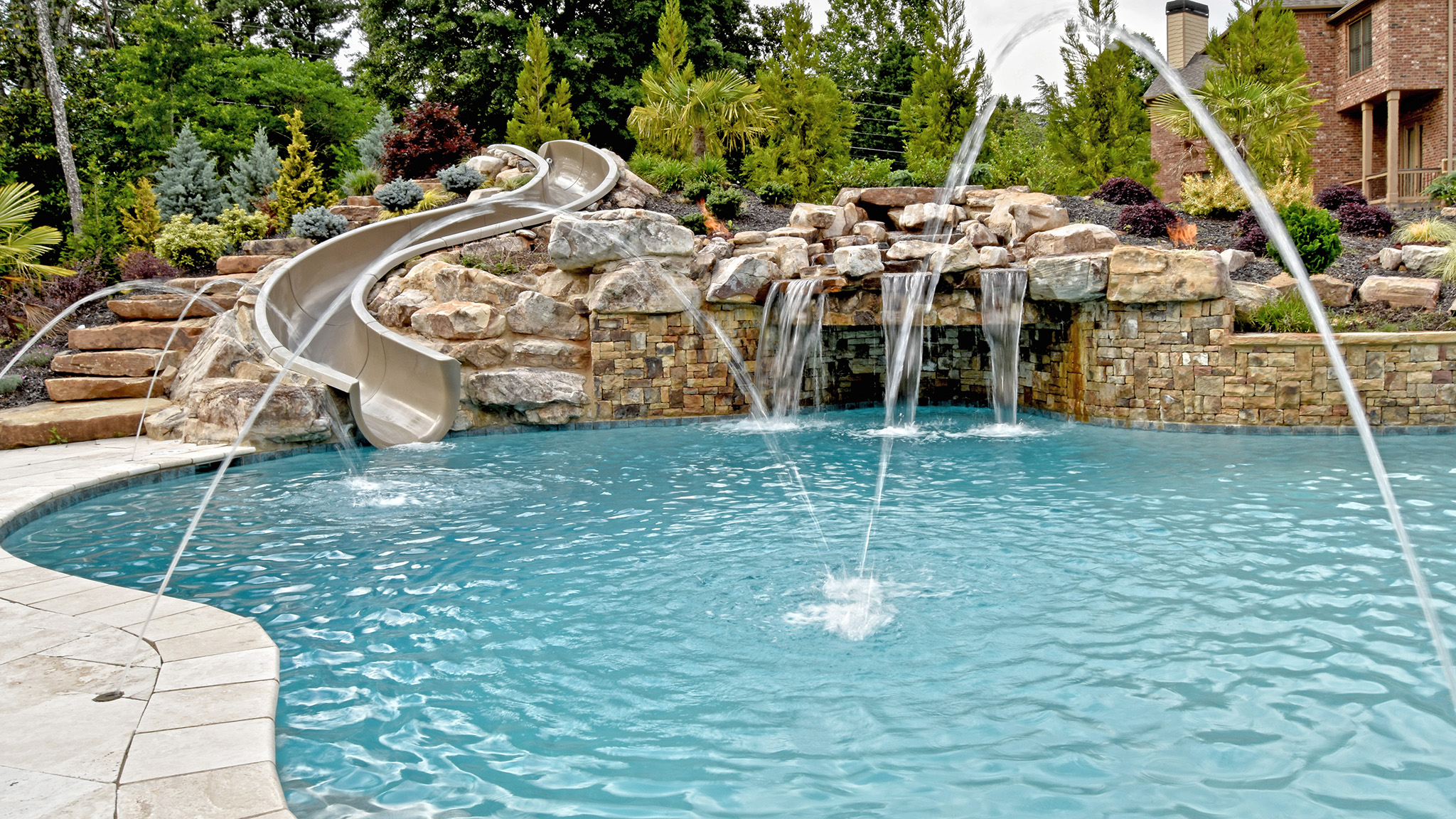 Water Features | Aqua Design Pools & Spas, LLC.